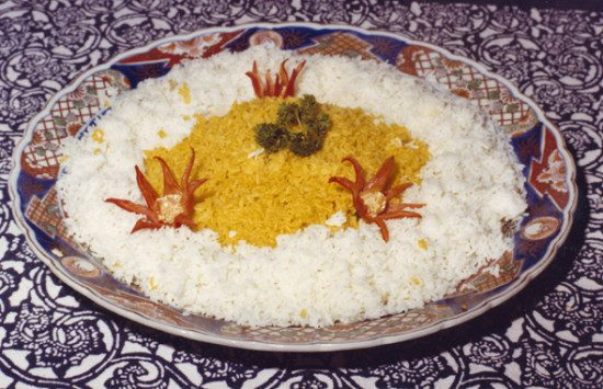 White-Yellow rice