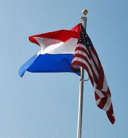 Dutch-American Flags