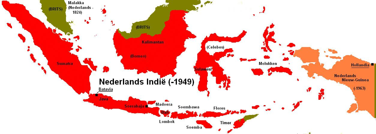 Map Dutch-Indies before 1949 (1 of 1)